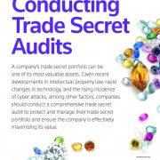 Conducting Trade Secret Audits