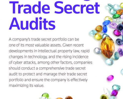 Conducting Trade Secret Audits